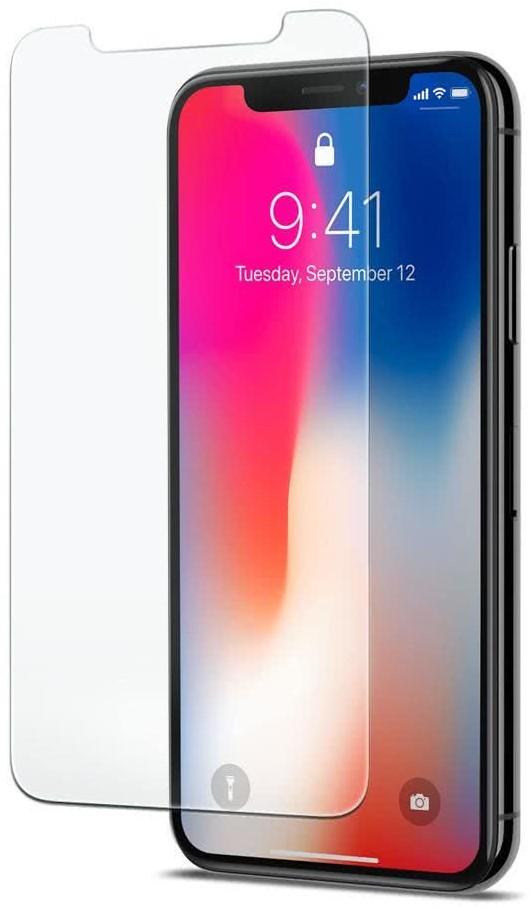 SPIGEN - Apple iPhone X Screen Protector GLAS.tR SLIM, Case Friendly (057GL22105)