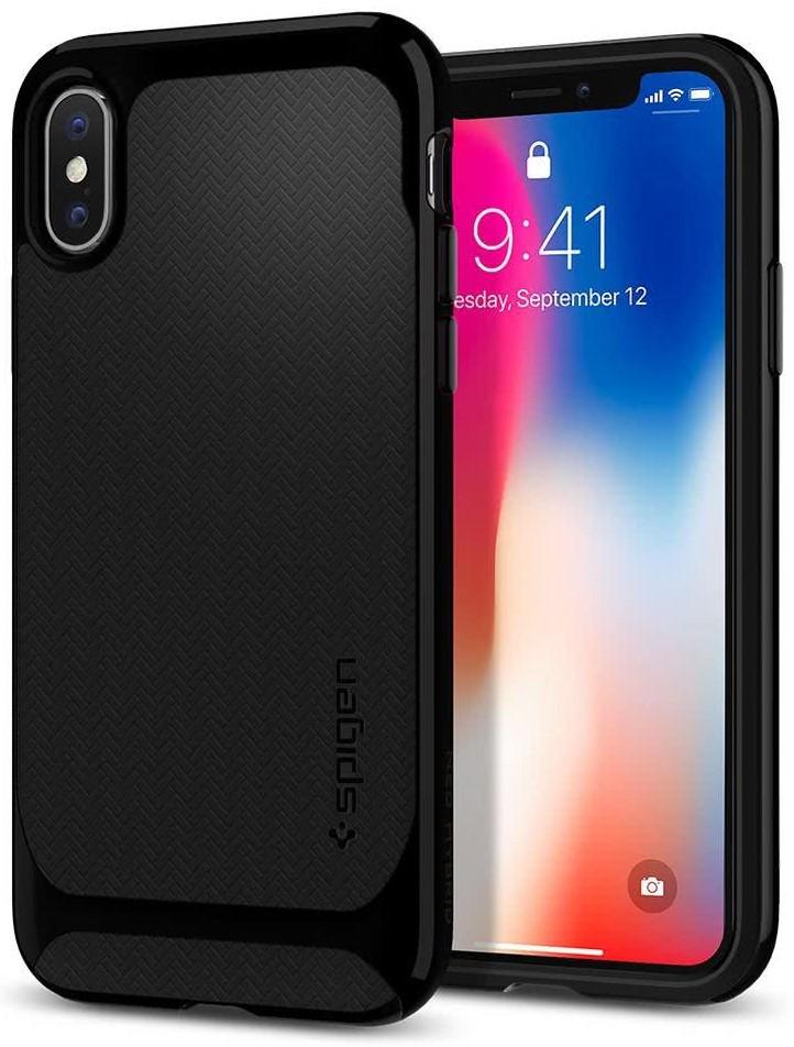 SPIGEN - Apple Iphone X Case Neo Hybrid Jet Black (057CS22166)