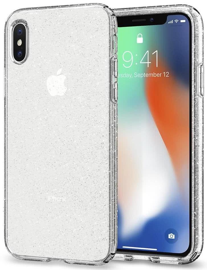 SPIGEN - Apple iPhone X Case Liquid Crystal Glitter (057CS22122)