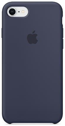 Apple iPhone 8 / 7 Silicone Case - Midnight Blue (MQGM2ZM/A)