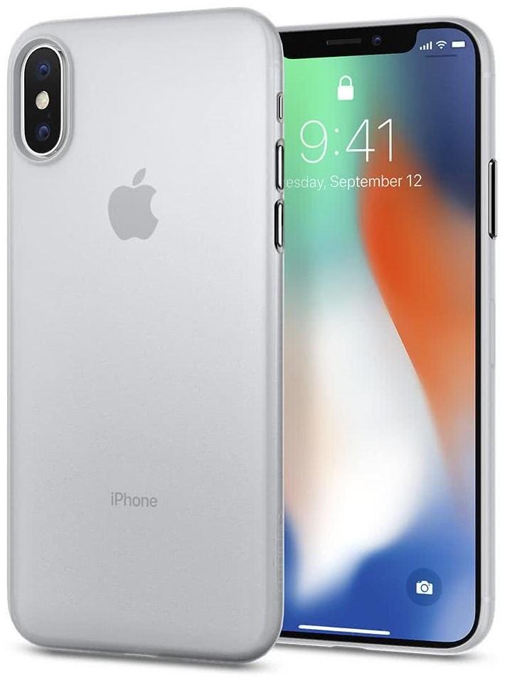 SPIGEN - Apple iPhone X Case Air Skin Soft Clear (057CS22115)