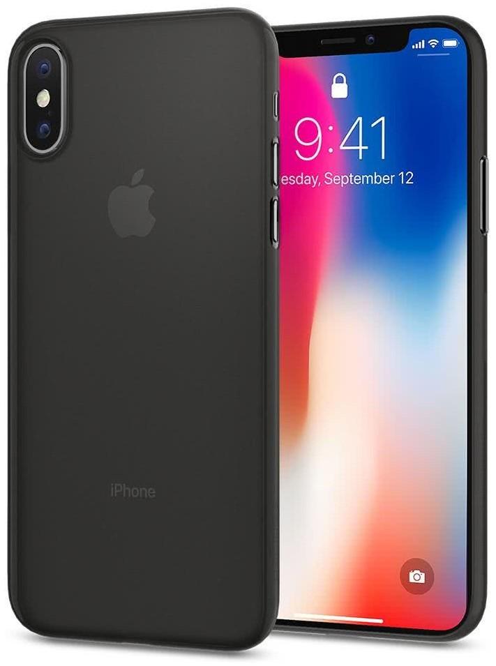 SPIGEN - Apple iPhone X Case Air Skin Black (057CS22114)
