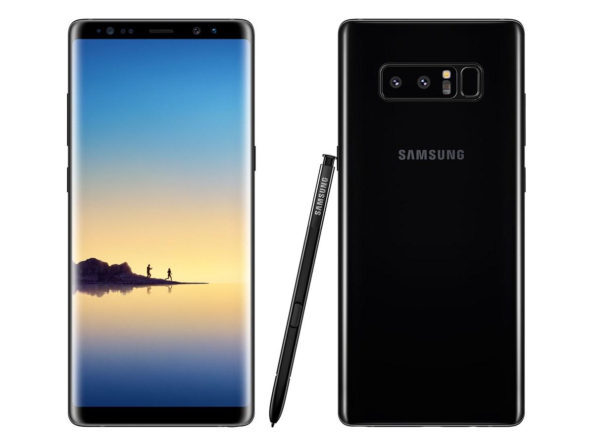 Samsung Galaxy Note 8,  64GB Dual SIM, Midnight Black