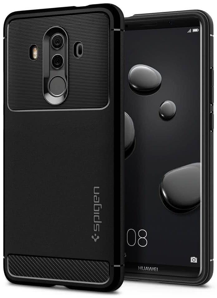 SPIGEN - Huawei Mate 10 Pro Case Rugged Armor Black (L19CS22665)
