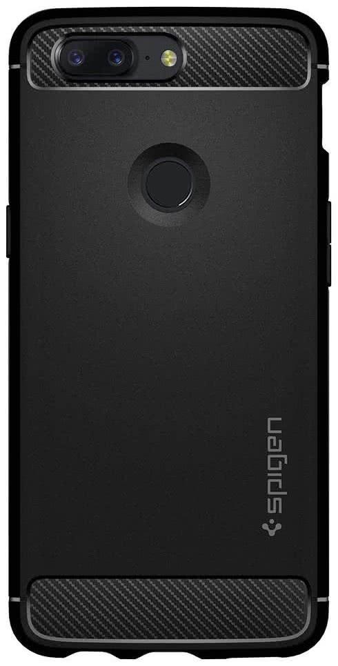 SPIGEN - OnePlus 5T Case Rugged Armor Black (K05CS22712)