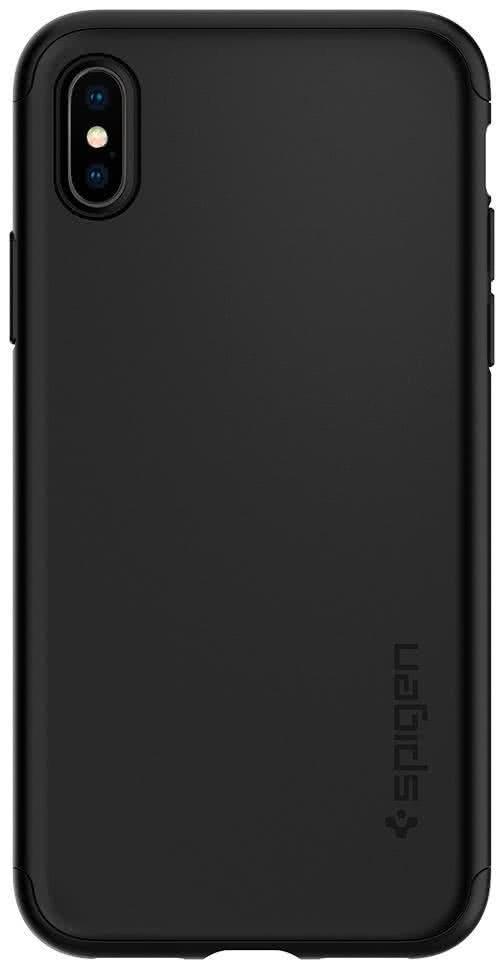 SPIGEN - Apple iPhone X Case Thin Fit 360 Black (057CS22177)