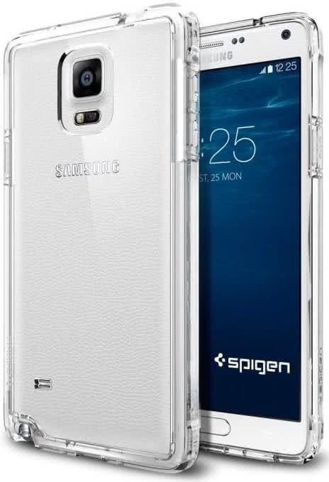 SPIGEN - Samsung Galaxy Note 4 -  Ultra Hybrid, Crystal Clear (SGP11117)