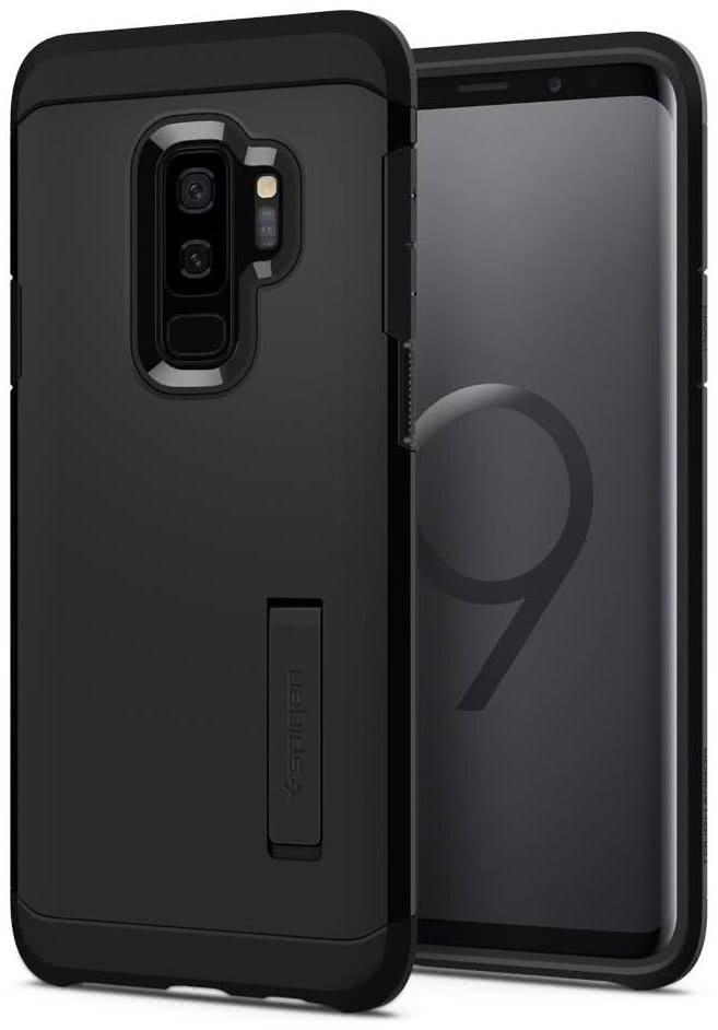 SPIGEN - Samsung Galaxy S9 Plus Case Tough Armor Black (593CS22933)