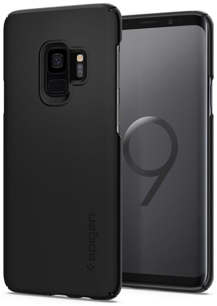 SPIGEN - Samsung Galaxy S9 Case Thin Fit Black (592CS22821)