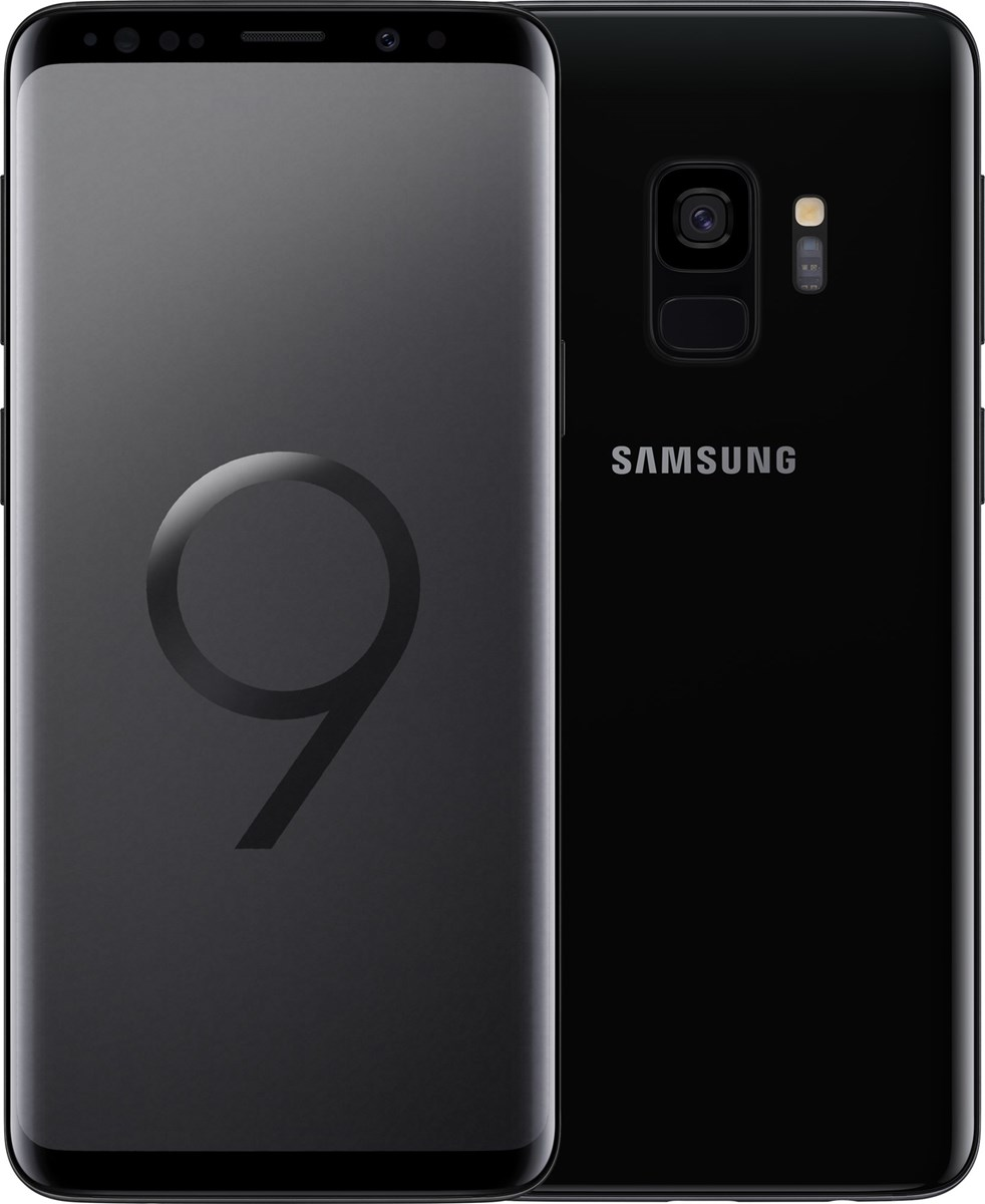 Samsung Galaxy S9 Single SIM, Midnight Black (SM-G960FZKATMS)