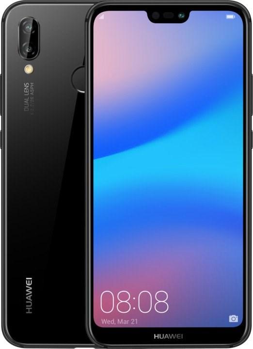 Huawei P20 Lite Dual SIM - Black (SP-P20LDSBOM)