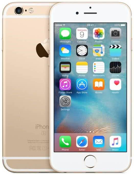 Apple iPhone 6s 128GB Gold (MKQV2CN/A)
