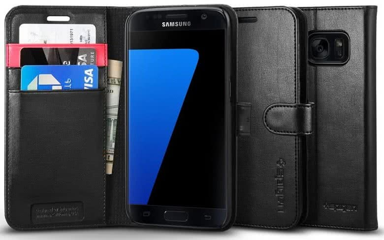 SPIGEN - Galaxy S7 Case Wallet S  (555CS20027)