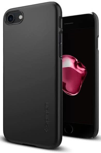 SPIGEN - iPhone 7/8 Case Thin Fit Black (042CS20427)