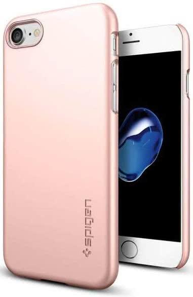 SPIGEN - iPhone 7/8 Case Thin Fit Rose Gold (042CS20429)