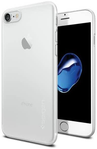 SPIGEN - iPhone 7/8 Case AirSkin Soft Clear (042CS20487)