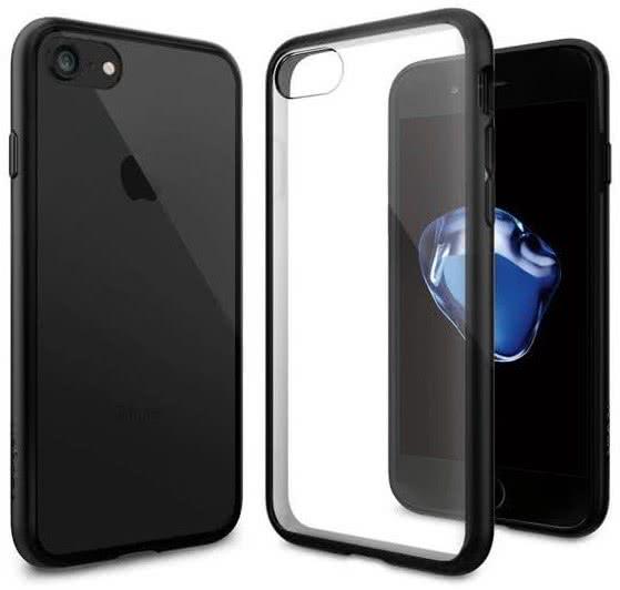 SPIGEN - iPhone 7/8 Case Ultra Hybrid Black (042CS20446)