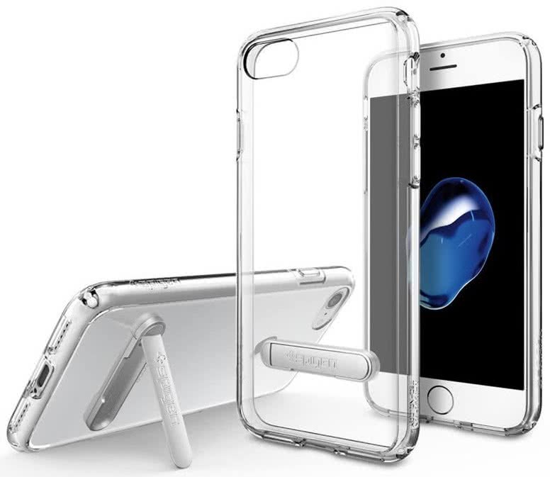 SPIGEN - iPhone 7/8 Case Ultra Hybrid S Clear (042CS20753)