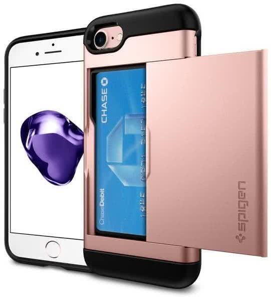 SPIGEN - iPhone 7/8 Case Slim Armor CS Rose Gold (042CS20454)