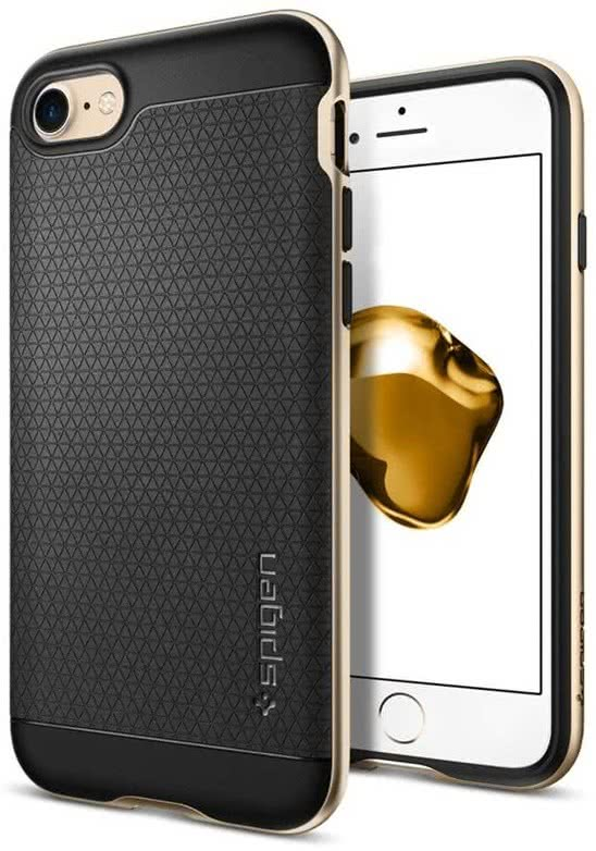 SPIGEN - iPhone 7/8 Case Neo Hybrid Champagne Gold (042CS20675)