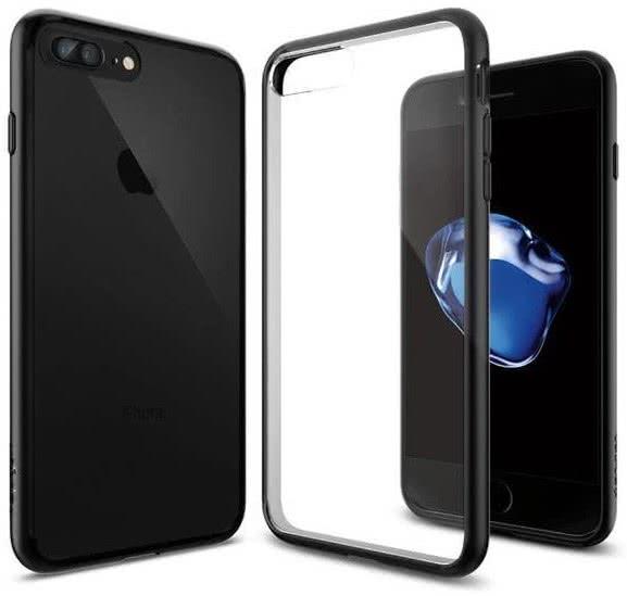 SPIGEN - iPhone 7/8 Plus Case Ultra Hybrid Black (043CS20550)