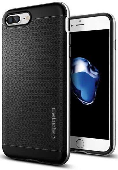 SPIGEN - iPhone 7/8 Plus Case Neo Hybrid Satin Silver (043CS20537)