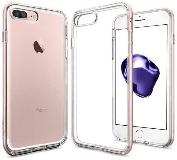 SPIGEN - iPhone 7/8 Plus Case Neo Hybrid Crystal Rose Gold (043CS20542)