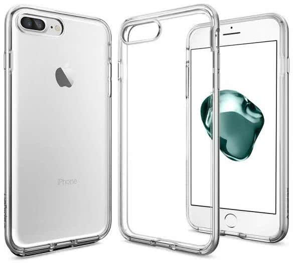 SPIGEN - iPhone 7/8 Plus Case Neo Hybrid Crystal Satin Silver (043CS20684)