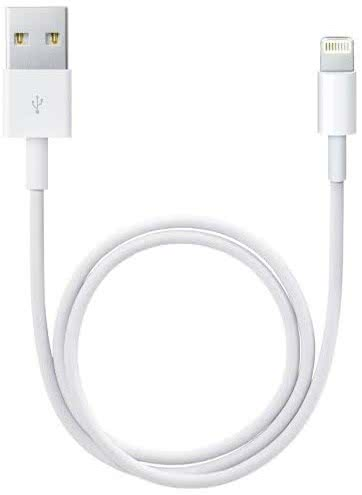iPhone 5/5S/5C/SE/6/6S/6 Plus/6S Plus/7/7Plus Original Datový Kabel White 2m - Box
