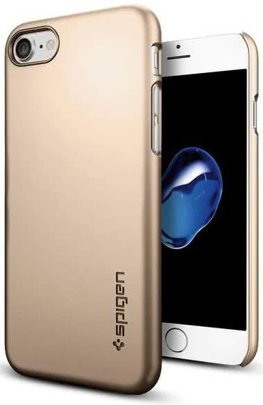 SPIGEN - iPhone 7/8 Case Thin Fit  Champagne Gold (042CS20732)