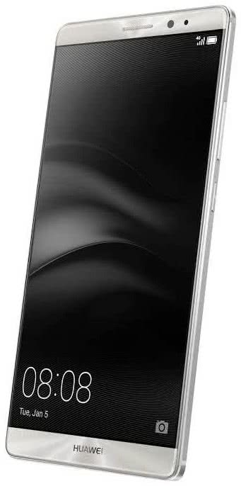 HUAWEI Mate 8 Midnight Silver Single Sim