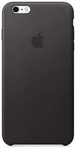 iPhone 6S Plus Leather Case Black (MKXF2ZM/A)