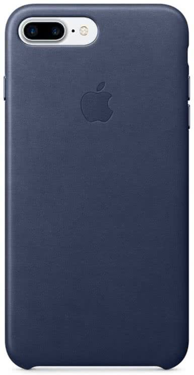 iPhone 7/8 Plus Leather Case - Mid Blue (MMYG2ZM/A)