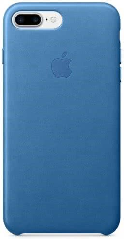 iPhone 7/8 Plus Leather Case - Sea Blue (MMYH2ZM/A)