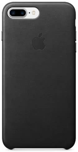 iPhone 7/8 Plus Leather Case - Black (MMYJ2ZM/A)