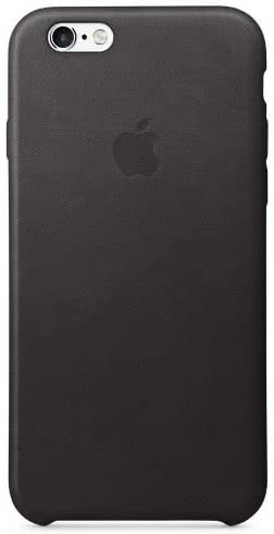 iPhone 6S Leather Case Black (MKXW2ZM/A)