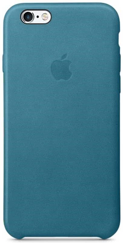 iPhone 6s Leather Case - Marine Blue (MM4G2ZM/A)