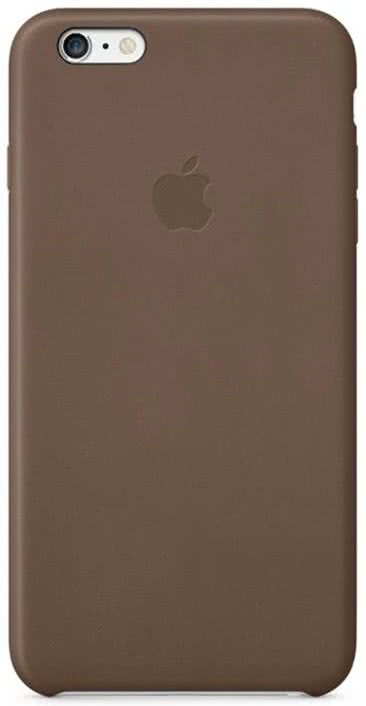 iPhone 6 Plus Leather Case Olive Brown (MGQR2ZM/A)