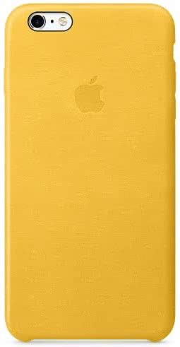 iPhone 6s Leather Case - Marigold (MMM22ZM/A)
