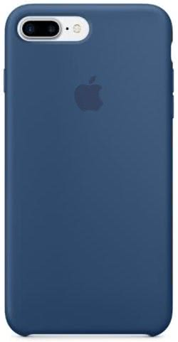 iPhone 7/8 Plus Silicone Case - Ocean Blue (MMQX2ZM/A)