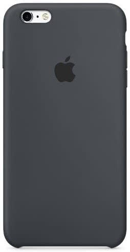 iPhone 6S Plus Silicone Case Charcoal Gray (MKXJ2ZM/A)