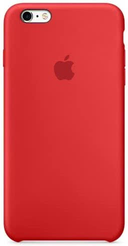 iPhone 6S Plus Silicone Case Red (MKXM2ZM/A)