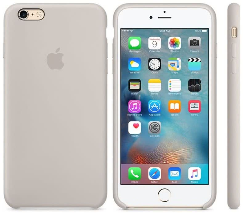 iPhone 6S Plus Silicone Case Stone (MKXN2ZM/A)