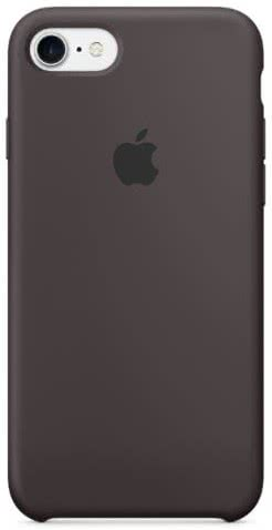 iPhone 7/8 Silicone Case - Cocoa (MMX22ZM/A)
