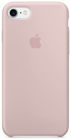 iPhone 8/7 Silicone Case - Pink Sand (MMX12ZM/A)