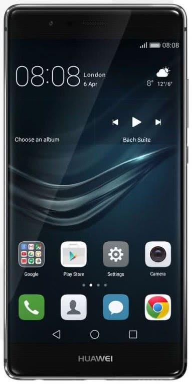 Huawei P9 32 GB Silngle SIM - Titanium Grey