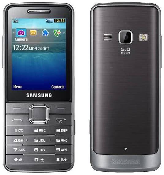 Samsung GT-S5611, metallic silver