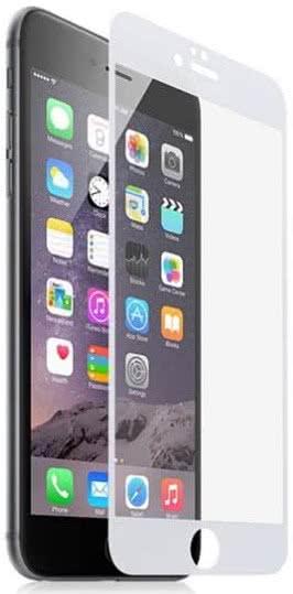 Sklenená fólia GLASS PRO+ pre iPhone 6/6S/7/8 na celý displej, 0.30 mm, biela
