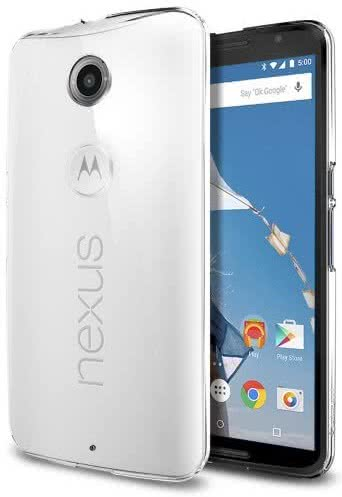 SPIGEN - Nexus 6 Case Thin Fit, crystal clear (SGP11235)