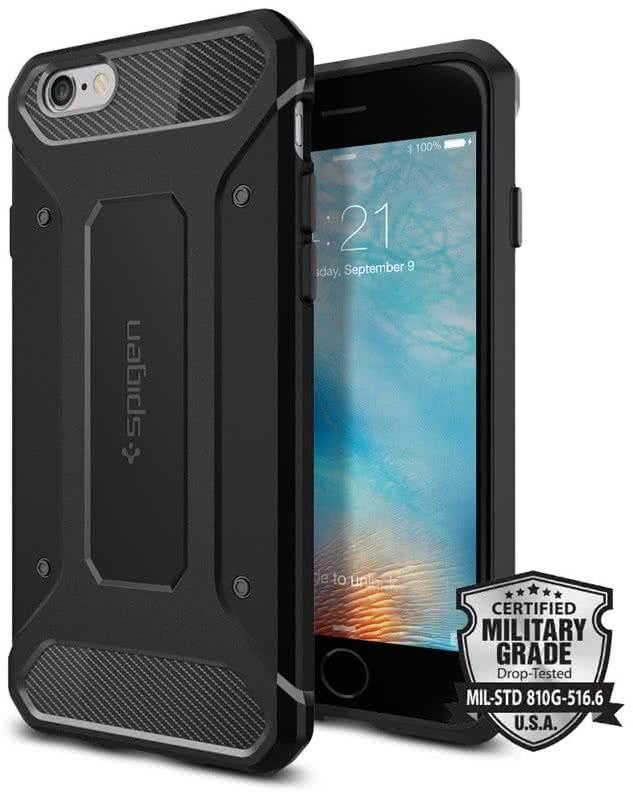 SPIGEN Capsule Ultra Rugged iPhone 6/6s, black (SGP11597)
